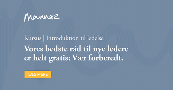 Introduktion til ledelse