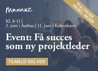 Deltag i Mannaz event: Få succes som ny projektleder