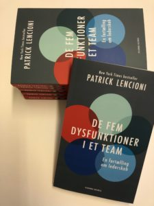 Patrick Lencioni: De fem dysfunktioner og de fem trin til et bedre team