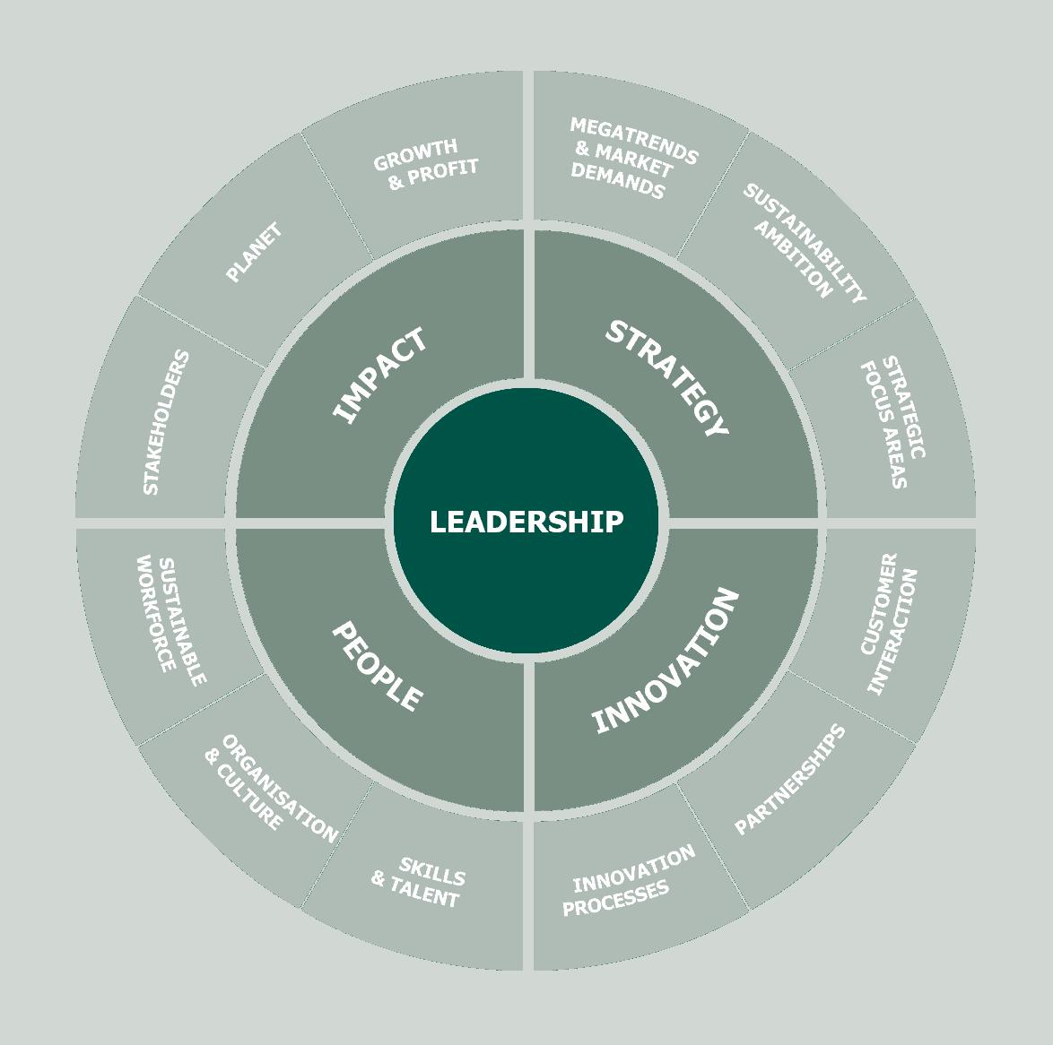 Ledelse, transformationen til større bæredygtighed