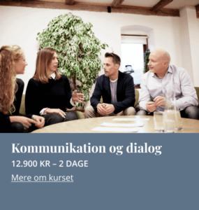Kommunikation og dialog | Kursus hos Mannaz